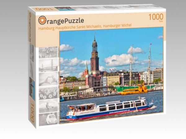 "Puzzle Motiv ""Hamburg Hauptkirche Sankt Michaelis, Hamburger Michel"" - Puzzle-Schachtel zu 1000 Teile Puzzle"