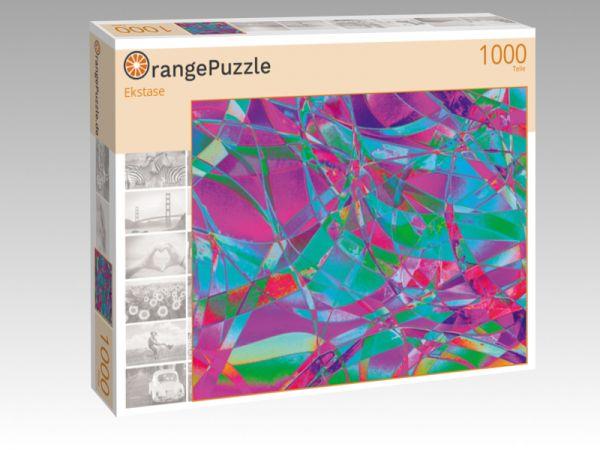 """Puzzle Motiv """"Ekstase"""" - Puzzle-Schachtel zu 1000 Teile Puzzle"""