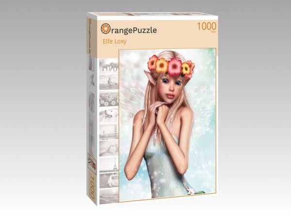 """Puzzle Motiv """"Elfe Loxy"""" - Puzzle-Schachtel zu 1000 Teile Puzzle"""