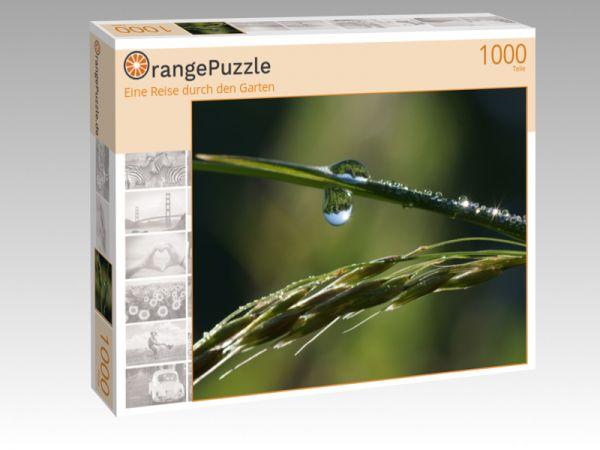 """Puzzle Motiv """"Eine Reise durch den Garten"""" - Puzzle-Schachtel zu 1000 Teile Puzzle"""