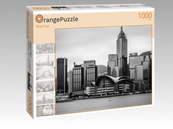 """Puzzle Motiv """"Wanchai"""" - Puzzle-Schachtel zu 1000 Teile Puzzle"""