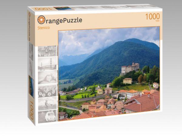 """Puzzle Motiv """"Stenico"""" - Puzzle-Schachtel zu 1000 Teile Puzzle"""