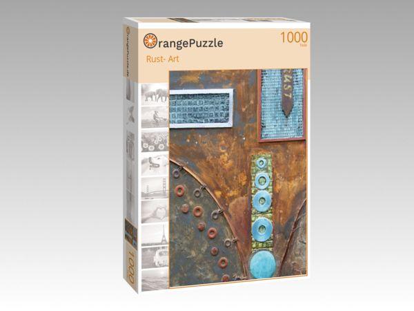 """Puzzle Motiv """"Rust- Art"""" - Puzzle-Schachtel zu 1000 Teile Puzzle"""