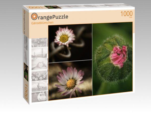 """Puzzle Motiv """"Gänseblümchen"""" - Puzzle-Schachtel zu 1000 Teile Puzzle"""