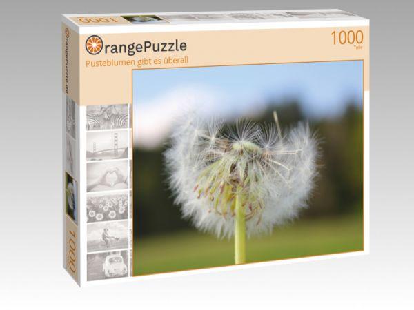"""Puzzle Motiv """"Pusteblumen gibt es überall"""" - Puzzle-Schachtel zu 1000 Teile Puzzle"""