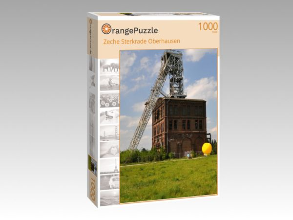 "Puzzle Motiv ""Zeche Sterkrade Oberhausen"" - Puzzle-Schachtel zu 1000 Teile Puzzle"