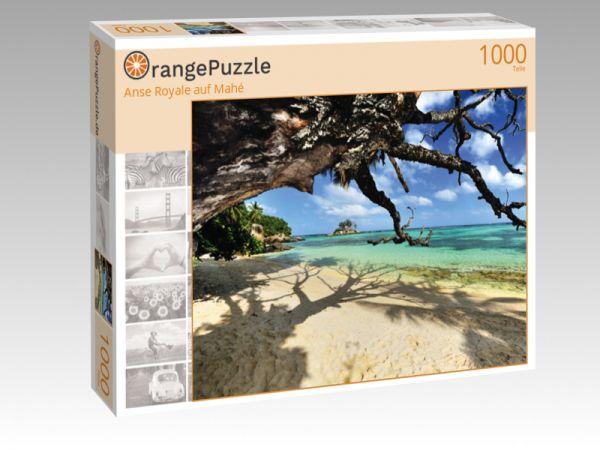 """Puzzle Motiv """"Anse Royale auf Mahé"""" - Puzzle-Schachtel zu 1000 Teile Puzzle"""