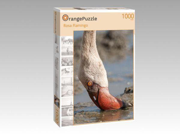 """Puzzle Motiv """"Rosa Flamingo"""" - Puzzle-Schachtel zu 1000 Teile Puzzle"""