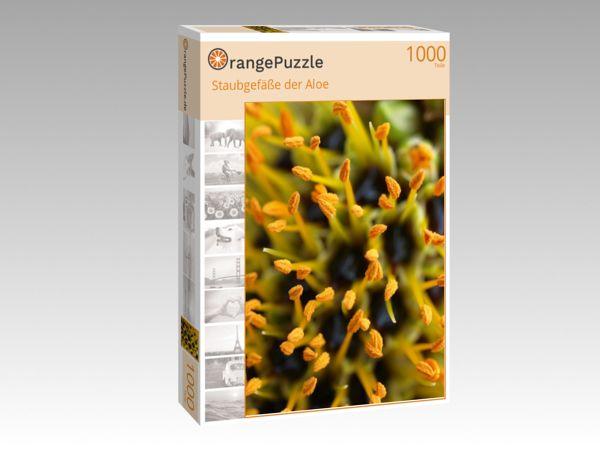 """Puzzle Motiv """"Staubgefäße der Aloe"""" - Puzzle-Schachtel zu 1000 Teile Puzzle"""