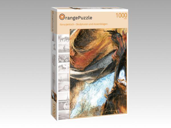 """Puzzle Motiv """"Ilona Jentsch - Skulpturen und Assemblagen"""" - Puzzle-Schachtel zu 1000 Teile Puzzle"""