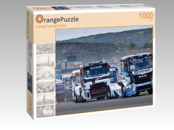 """Puzzle Motiv """"Kampf um die Pole"""" - Puzzle-Schachtel zu 1000 Teile Puzzle"""