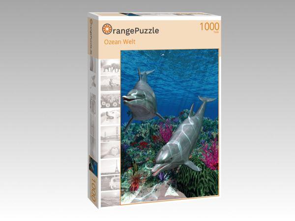 """Puzzle Motiv """"Ozean Welt"""" - Puzzle-Schachtel zu 1000 Teile Puzzle"""
