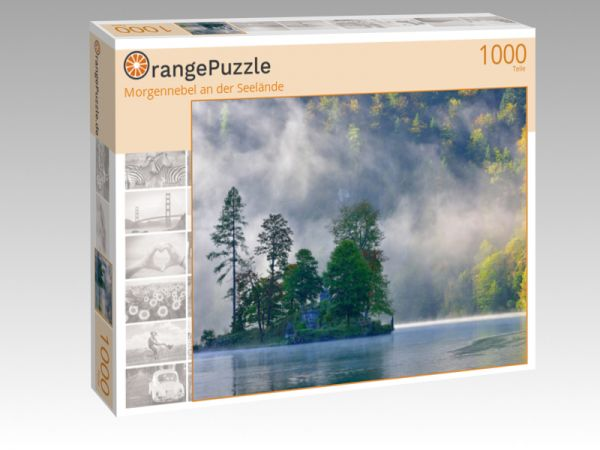 """Puzzle Motiv """"Morgennebel an der Seelände"""" - Puzzle-Schachtel zu 1000 Teile Puzzle"""