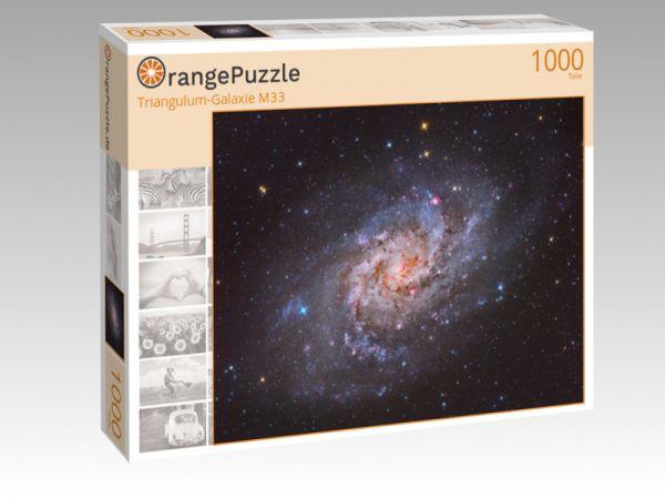 "Puzzle Motiv ""Triangulum-Galaxie M33"" - Puzzle-Schachtel zu 1000 Teile Puzzle"