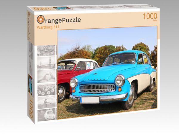 """Puzzle Motiv """"Wartburg 311"""" - Puzzle-Schachtel zu 1000 Teile Puzzle"""