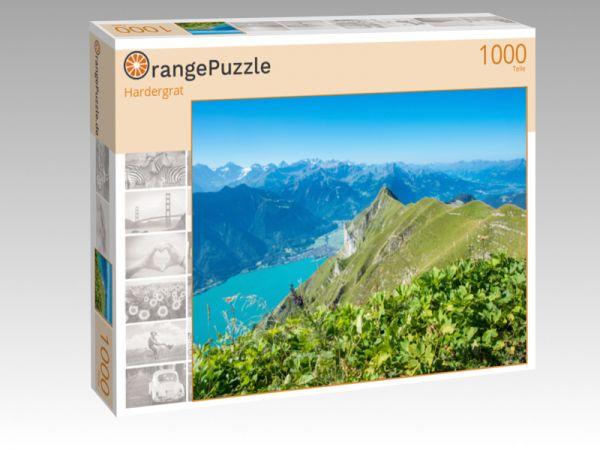 """Puzzle Motiv """"Hardergrat"""" - Puzzle-Schachtel zu 1000 Teile Puzzle"""