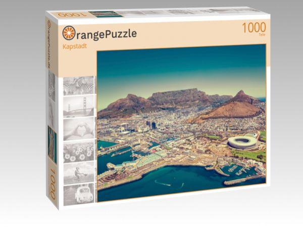 """Puzzle Motiv """"Kapstadt"""" - Puzzle-Schachtel zu 1000 Teile Puzzle"""