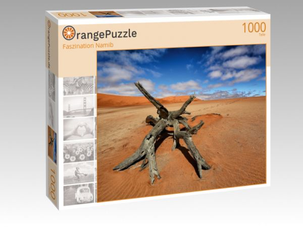 """Puzzle Motiv """"Faszination Namib"""" - Puzzle-Schachtel zu 1000 Teile Puzzle"""