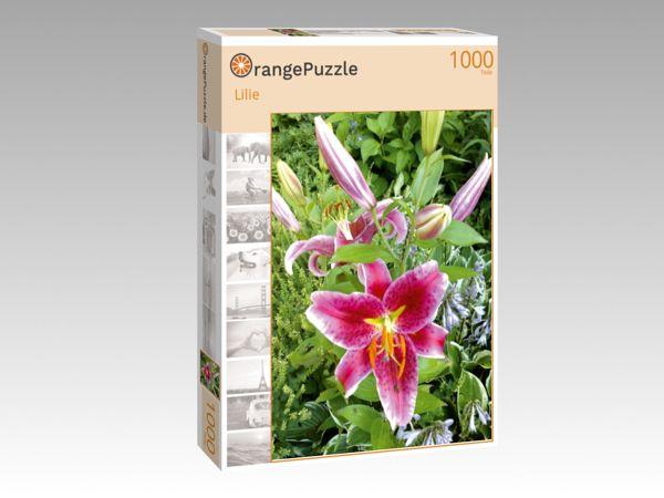 """Puzzle Motiv """"Lilie"""" - Puzzle-Schachtel zu 1000 Teile Puzzle"""