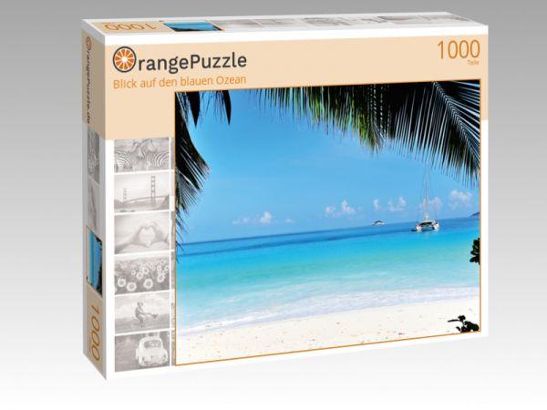 """Puzzle Motiv """"Blick auf den blauen Ozean"""" - Puzzle-Schachtel zu 1000 Teile Puzzle"""
