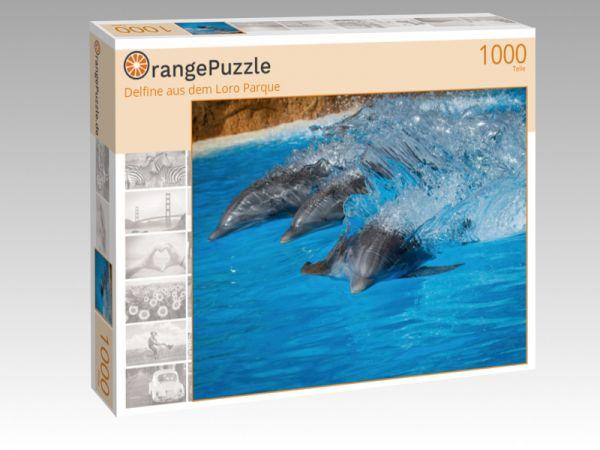 """Puzzle Motiv """"Delfine aus dem Loro Parque"""" - Puzzle-Schachtel zu 1000 Teile Puzzle"""