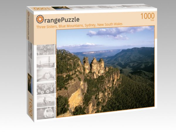 "Puzzle Motiv ""Three Sisters, Blue Mountains, Sydney, New South Wales"" - Puzzle-Schachtel zu 1000 Teile Puzzle"