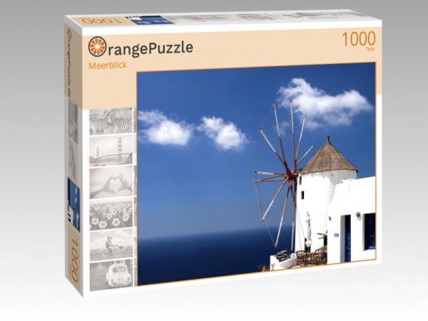 """Puzzle Motiv """"Meerblick"""" - Puzzle-Schachtel zu 1000 Teile Puzzle"""