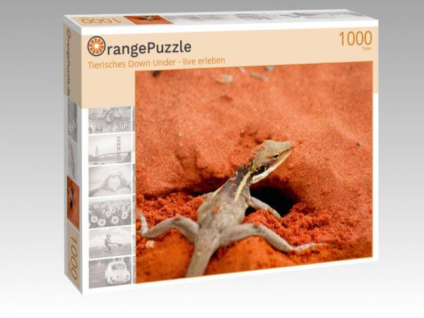 """Puzzle Motiv """"Tierisches Down Under - live erleben"""" - Puzzle-Schachtel zu 1000 Teile Puzzle"""