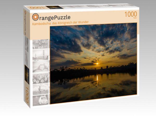 """Puzzle Motiv """"Kambodscha: das Königreich der Wunder"""" - Puzzle-Schachtel zu 1000 Teile Puzzle"""