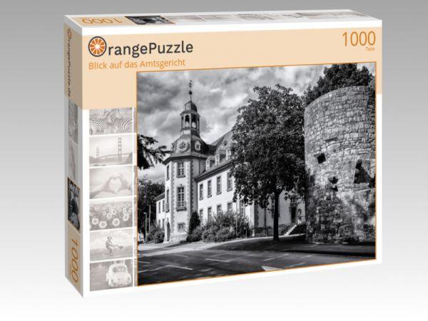 "Puzzle Motiv ""Blick auf das Amtsgericht"" - Puzzle-Schachtel zu 1000 Teile Puzzle"