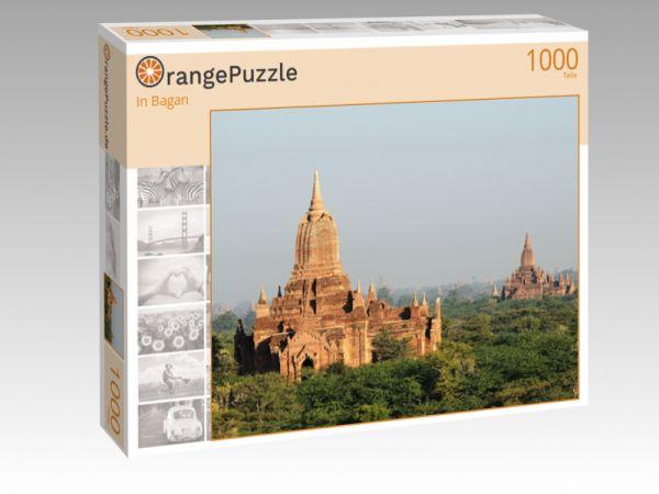 """Puzzle Motiv """"In Bagan"""" - Puzzle-Schachtel zu 1000 Teile Puzzle"""