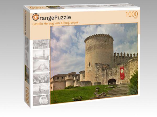"Puzzle Motiv ""Castillo Herzog von Albuquerque"" - Puzzle-Schachtel zu 1000 Teile Puzzle"