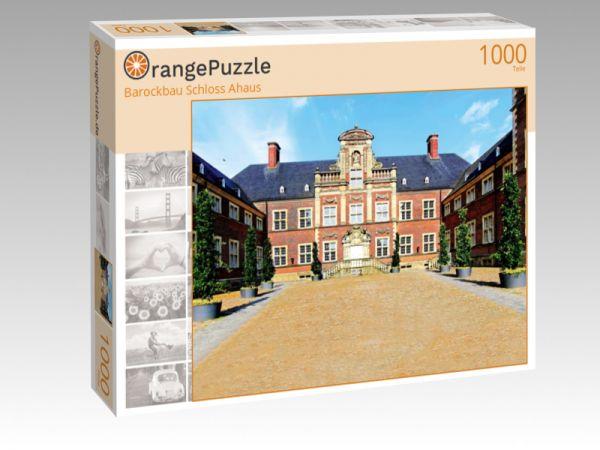 """Puzzle Motiv """"Barockbau Schloss Ahaus"""" - Puzzle-Schachtel zu 1000 Teile Puzzle"""
