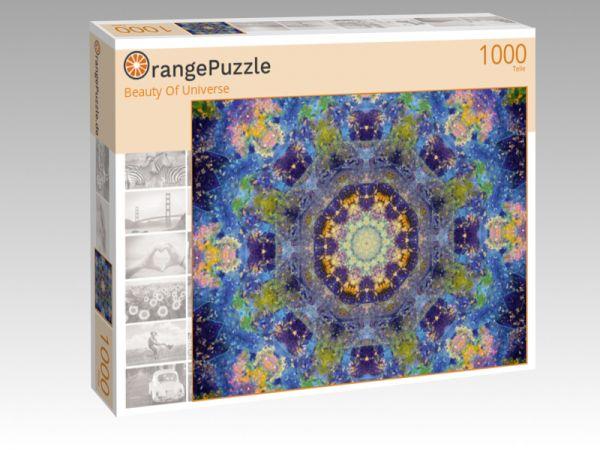 """Puzzle Motiv """"Beauty Of Universe"""" - Puzzle-Schachtel zu 1000 Teile Puzzle"""