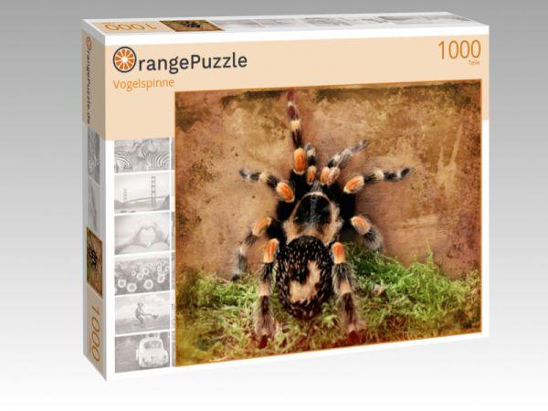 "Puzzle Motiv ""Vogelspinne"" - Puzzle-Schachtel zu 1000 Teile Puzzle"