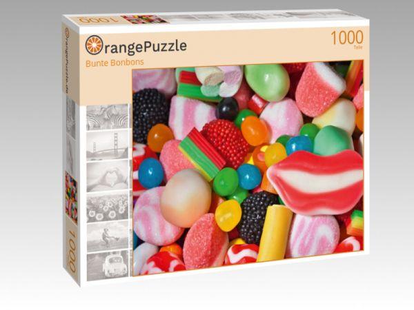 """Puzzle Motiv """"Bunte Bonbons"""" - Puzzle-Schachtel zu 1000 Teile Puzzle"""