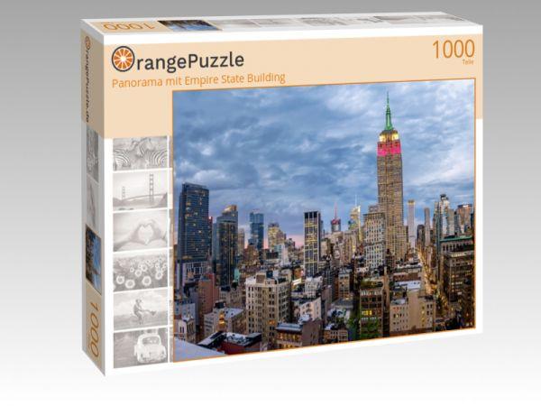 "Puzzle Motiv ""Panorama mit Empire State Building"" - Puzzle-Schachtel zu 1000 Teile Puzzle"
