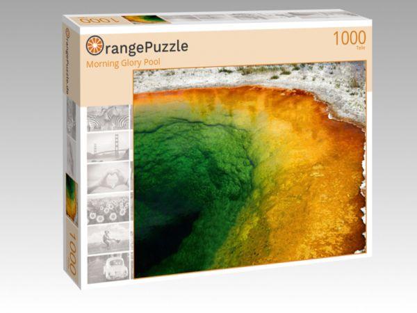 "Puzzle Motiv ""Morning Glory Pool"" - Puzzle-Schachtel zu 1000 Teile Puzzle"