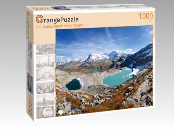 """Puzzle Motiv """"Der Nationalpark Hohe Tauern"""" - Puzzle-Schachtel zu 1000 Teile Puzzle"""