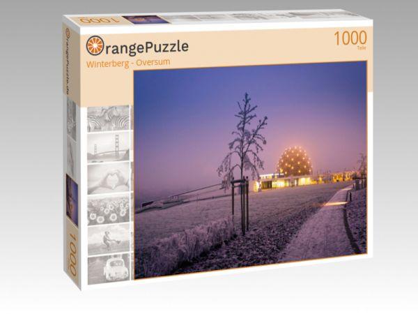 """Puzzle Motiv """"Winterberg - Oversum"""" - Puzzle-Schachtel zu 1000 Teile Puzzle"""