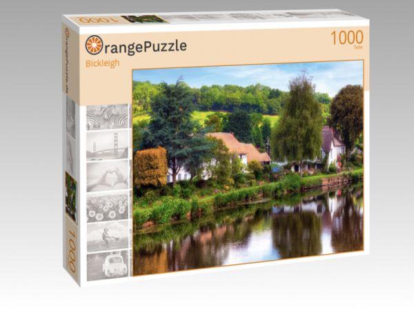 """Puzzle Motiv """"Bickleigh"""" - Puzzle-Schachtel zu 1000 Teile Puzzle"""