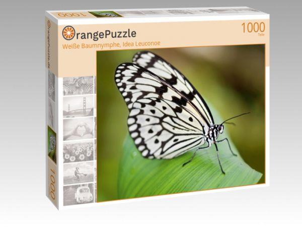 """Puzzle Motiv """"Weiße Baumnymphe, Idea Leuconoe"""" - Puzzle-Schachtel zu 1000 Teile Puzzle"""