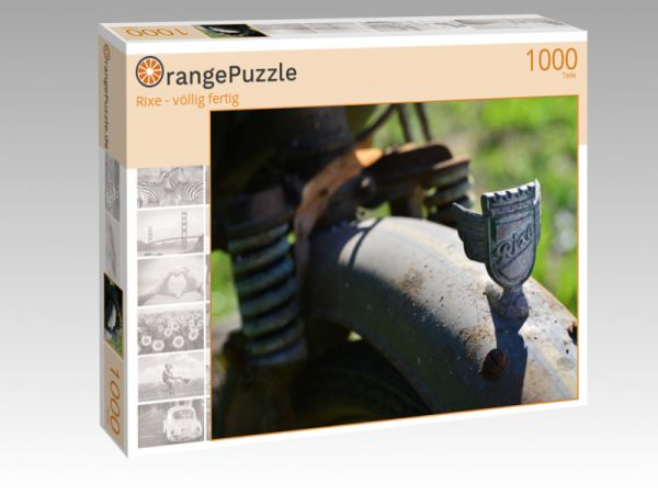 """Puzzle Motiv """"Rixe - völlig fertig"""" - Puzzle-Schachtel zu 1000 Teile Puzzle"""