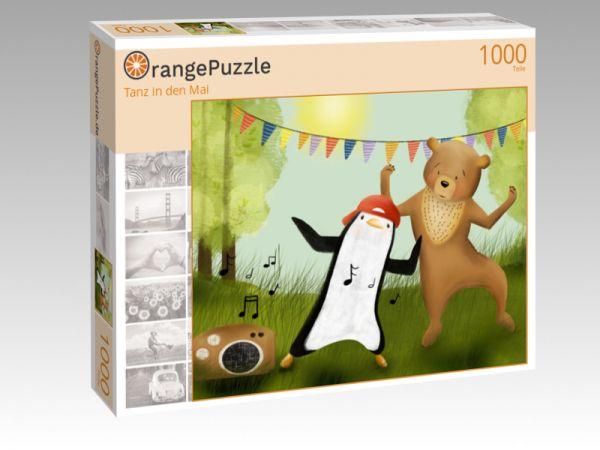 "Puzzle Motiv ""Tanz in den Mai"" - Puzzle-Schachtel zu 1000 Teile Puzzle"
