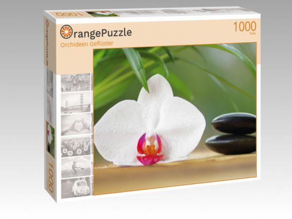 """Puzzle Motiv """"Orchideen Geflüster"""" - Puzzle-Schachtel zu 1000 Teile Puzzle"""