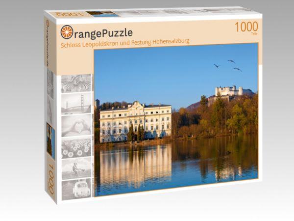 """Puzzle Motiv """"Schloss Leopoldskron und Festung Hohensalzburg"""" - Puzzle-Schachtel zu 1000 Teile Puzzle"""