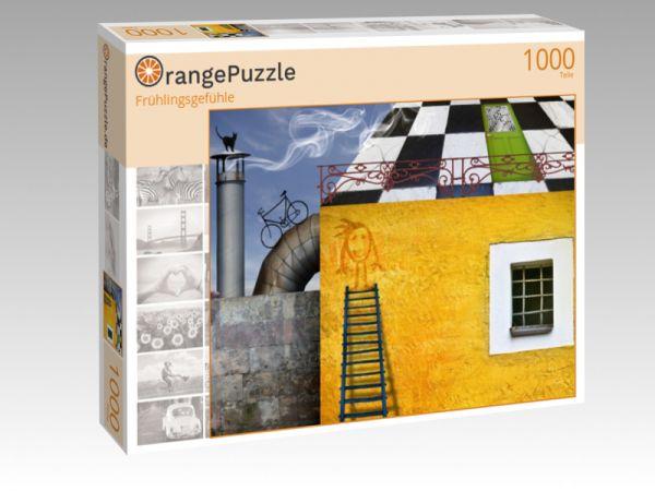 """Puzzle Motiv """"Frühlingsgefühle"""" - Puzzle-Schachtel zu 1000 Teile Puzzle"""