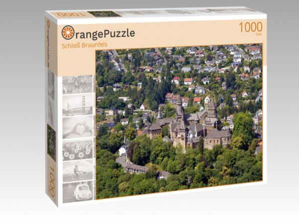 """Puzzle Motiv """"Schloß Braunfels"""" - Puzzle-Schachtel zu 1000 Teile Puzzle"""