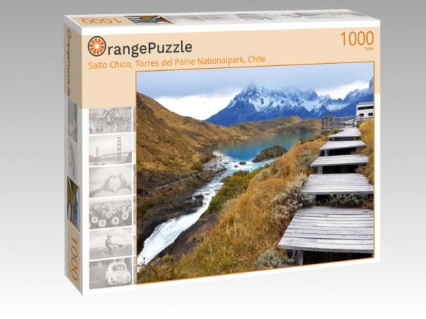"""Puzzle Motiv """"Salto Chico, Torres del Paine Nationalpark, Chile"""" - Puzzle-Schachtel zu 1000 Teile Puzzle"""