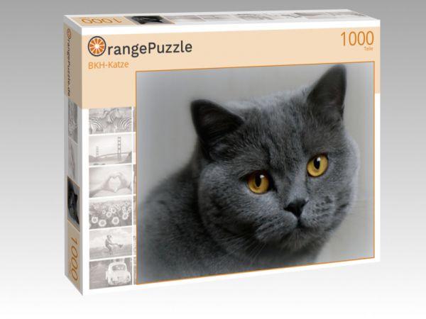 """Puzzle Motiv """"BKH-Katze"""" - Puzzle-Schachtel zu 1000 Teile Puzzle"""
